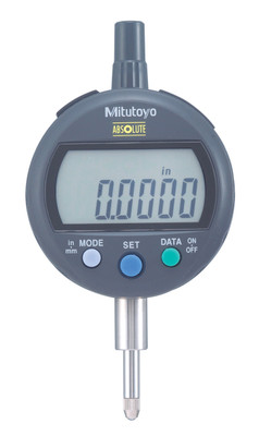 "ASDQMS Mitutoyo 543-402B IDC Digimatic Indicator with .500"" Range Flat Back"