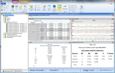 ASDQMS MeasurLink Gage R&R v9