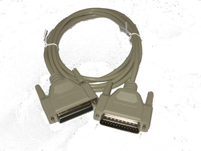 ASDQMS GageMux RS232 Multiplexer Cable 25-pin to 25-pin