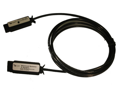 ASDQMS 250-440-S 10-pin SPC Gage Cable with Switch