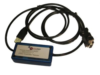 ASDQMS SmartCable Keyboard Output for Nikon SC-213 Digital Counter