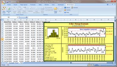 SPC1+ Excel Add On