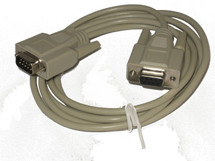 Micro GageMux Extension DB9-M to DB9-F Serial Cable