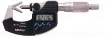 """ASDQMS Mitutoyo 314-351-30 IP65 V-Anvil Micrometer - 05-.6"""" Range"""