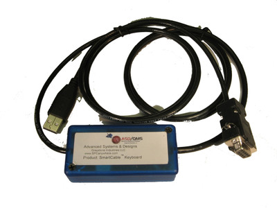 ASDQMS SmartCable Keyboard for Rice Lake TS Series Balance