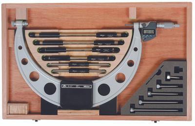"ASDQMS Mitutoyo 340-352-30 Digital Outside Micrometer; 6-12"" Range"