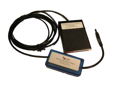 ASDQMS Industrial Footswitch with USB Output
