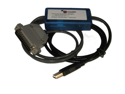 ASDQMS SmartCable USB with Keyboard Output for Brown & Sharpe 1025 Amplifier