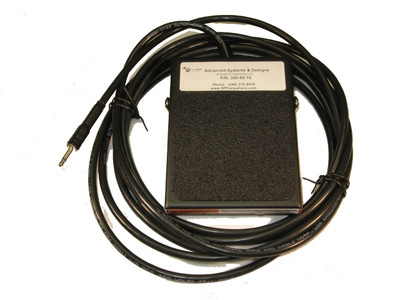 ASDQMS Industrial Footswitch with 10' cable