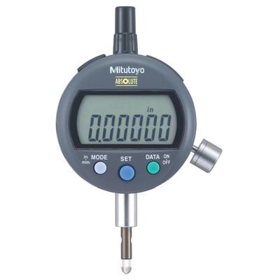 """Mitutoyo 543-396B Low Measuring Force Flat Back Indicator ID-C 0-.500"""" Range"""