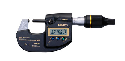 ASDQMS Mitutoyo 293-100-10 MDH High-Accuracy Sub-Micron Digmatic Micrometer