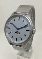 Bauhaus Moon Age Watch - SILVER