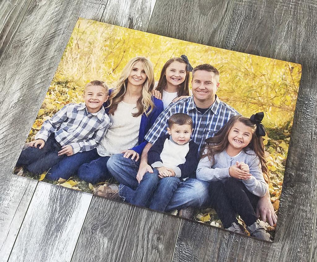 print photos on wood