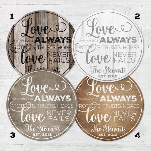 1 Corinthians 13 anniversary gift