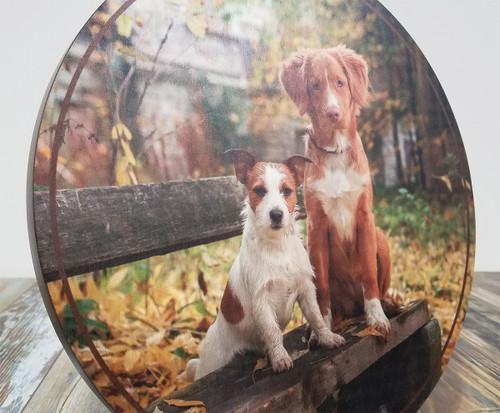 Wood photo print