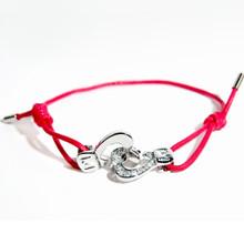 Cuffs of Love ♥ Heartcuff Bracelet Medium 1/2 CZ