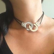 Cuffs of Love ♥ Handcuff Necklace