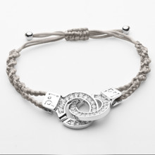 Handcuff Bracelet XLarge CZ