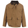 Bulwark® Brown Duck Lined Bomber Jacket HRC3