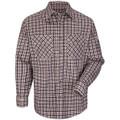 6.5 OZ. Plaid Uniform Shirt