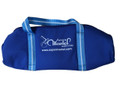 Martel Nylon #50 - 4 Ball Long Bag - Blue with Light Blue Handle/Blue Trim