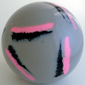 Martel SUPER GF - GREY SILVER - black, fluorescent pink  - Set of four