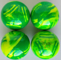 Martel DUO TOP GF - green lawn / fluo yellow - Set of four.