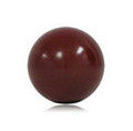 Pallino 50 mm x 90 Grams Plastic - Burgundy Red