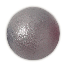 Iron javelin balls for outdoor training.