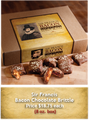 Sir Francis  Bacon Chocolate Peanut Brittle 8oz Box