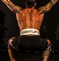 "Unbroken Designs | Barbell Club 4"" Leather Weightlifting Belt 4"