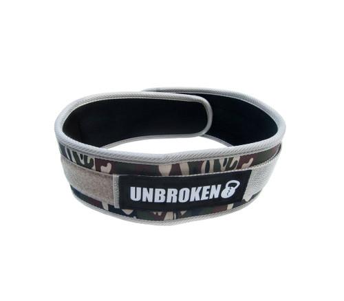 "Unbroken Designs | Incognito 4"" Velcro Weightlifting Belt"