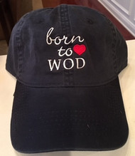 Born to WOD | Heart Hat - Navy