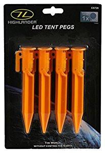 HIGHLANDER LED TENT PEGS