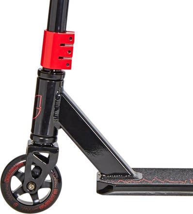 BLAZERPRO DISTORTION STUNT SCOOTER - BLACK/RED