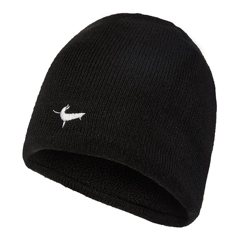 Waterproof Beanie Hat - Black