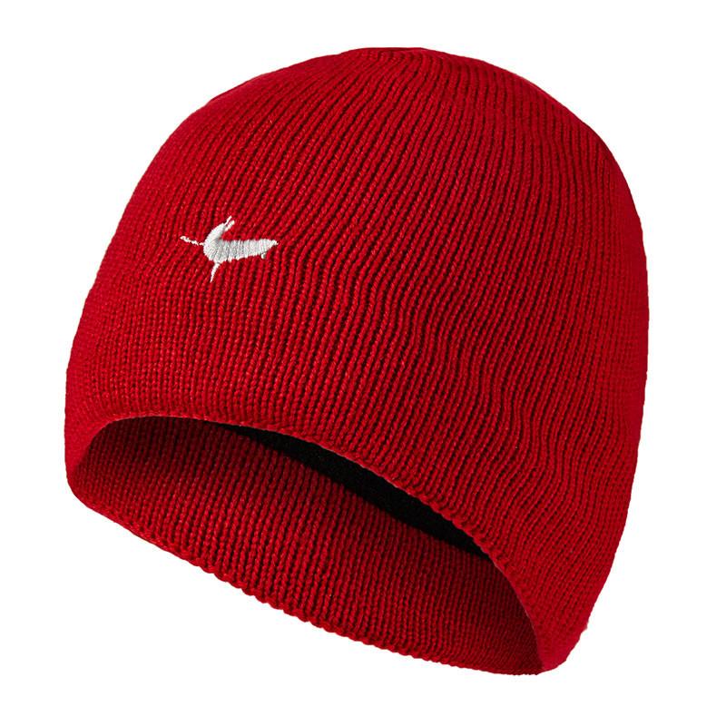 Waterproof Beanie Hat - Red