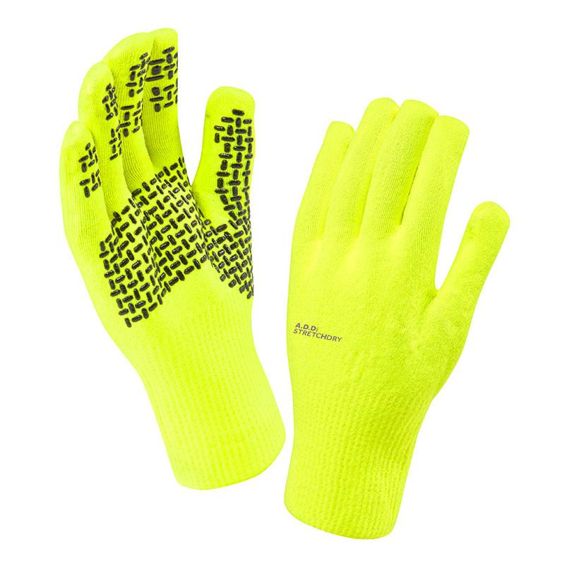 Ultra Grip Hi Vis Gloves - Yellow