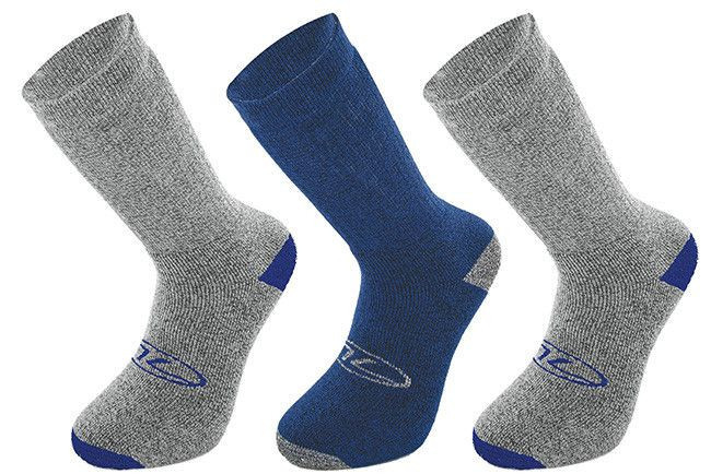 3 Pair Pack Walking Sock