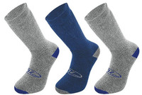 3 Pair Pack Walking Sock