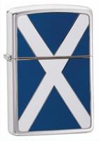 ZIPPO SCOTLAND FLAG
