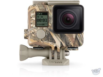 GOPRO CAMO HOUSING AND QUICKCLIP