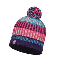 JUNIOR KNITTED BUFF HAT (HOPS / PLUM)
