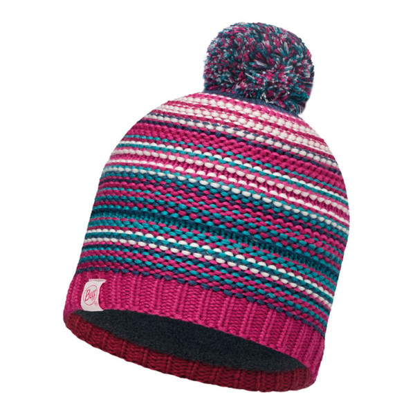JUNIOR KNITTED BUFF HAT (AMITY PINK)
