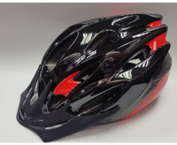 MISSION EVO CYCLE HELMET BLACK/RED