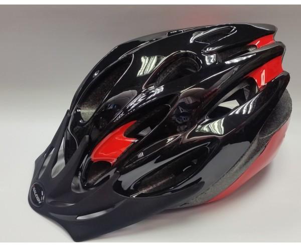 MISSION EVO CYCLE HELMET BLACK/RED