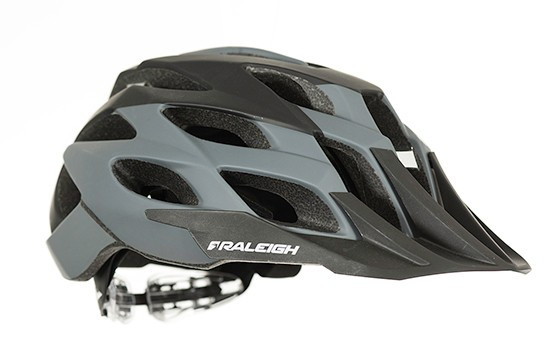 RALEIGH TYR CYCLE HELMET | GREY / BLACK