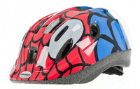 MYSTERY JUNIOR CYCLE HELMET | RED / BLUE