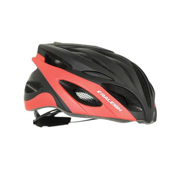 RALEIGH DRAFT CYCLE HELMET | RED / BLACK