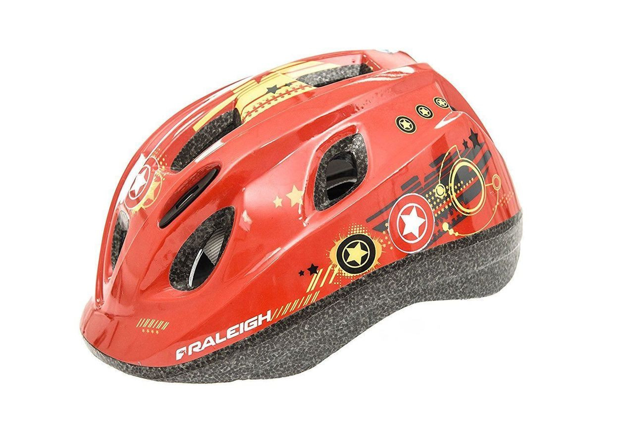 MYSTERY JUNIOR CYCLE HELMET | RED HERO